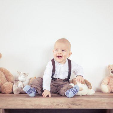 Babyshooting-Kuscheltiere