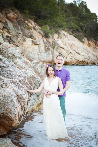 Hochzeitspaar-Shooting-im-Meer