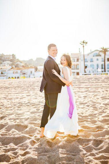 Hochzeitsshooting-Sonnenuntergang-am-Strand