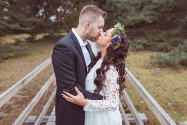 Hochzeitsshooting in den Duenen Frankfurt