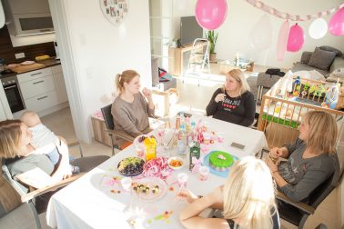 Babyparty Impessionen