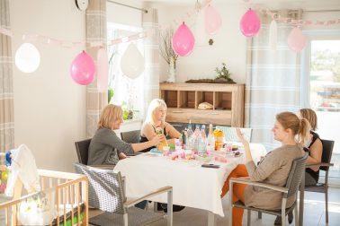 Babyshower feiern