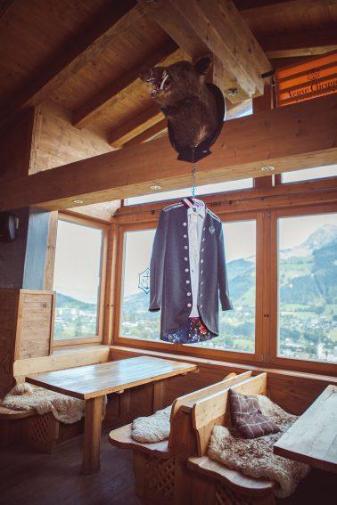 Trachtenhochzeit auf der Ganslernalm in Kitzbühel