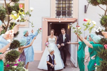Hochzeit im Schloss Ettlingen und Feier im Watz
