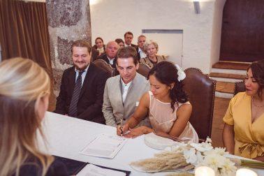 Standesamtliche Hochzeit im Kloster Seeon bei Traunstein