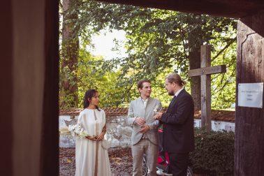 Kirliche Hochzeit im Kloster Seeon bei Traunstein