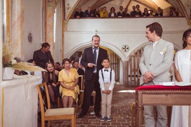 Kirchliche Hochzeit im Kloster Seeon bei Traunstein