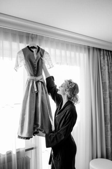 Getting Ready Hochzeit Füssen