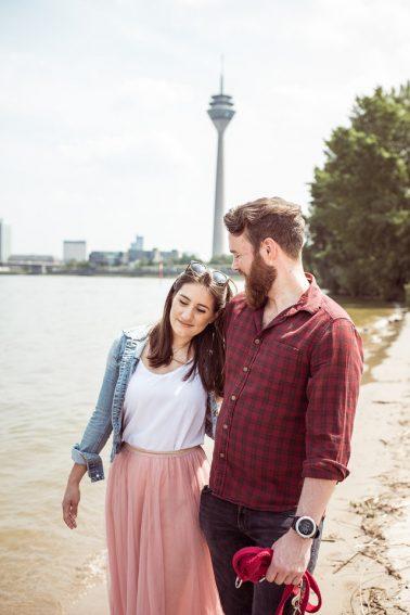 Engagementshooting-Medienhafen-Düsseldorf