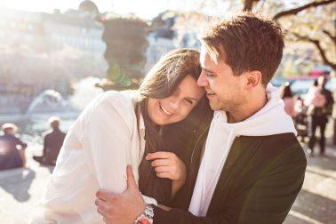 Verlobungsshooting Stockholm