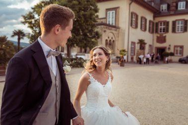 Hochzeitsreportage Schloss Bad Homburg