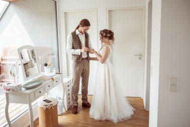 Hochzeit mit toskanischem Flair in der Villa Schönborn