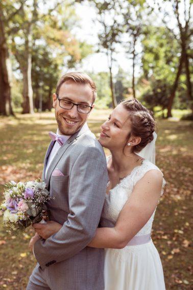 Standesamtliche Hochzeit mit Feier im Bootshaus im Volksgarten in Düsseldorf