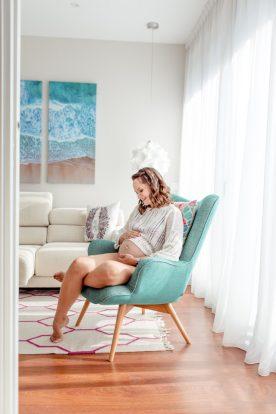 Schwangerschaft Homestory