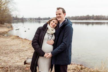 Babybauchshooting in München