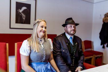 Elopment Hochzeit in Riet in Tirol