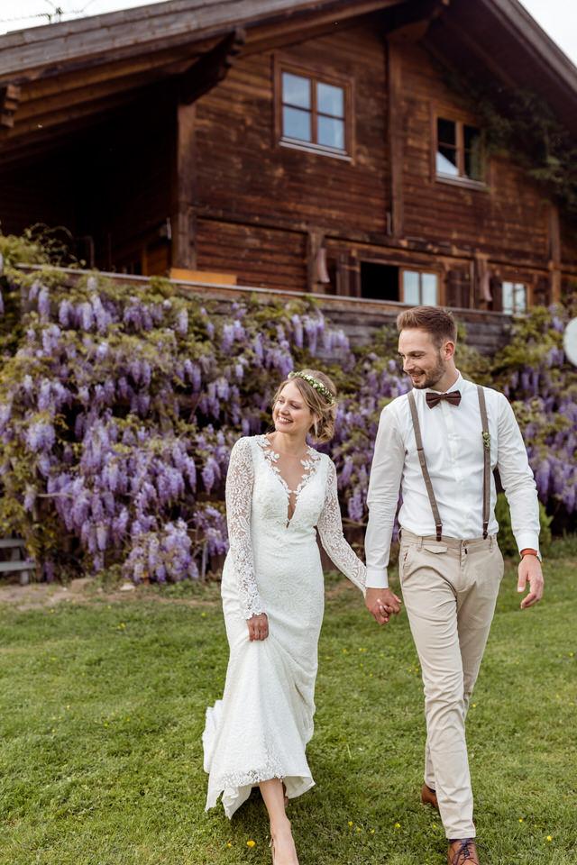 Hochzeit im Gewächshaus Decher in Karben
