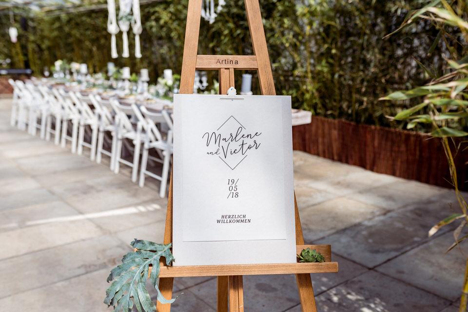 Heiraten im Gewächshaus Decher in Karben