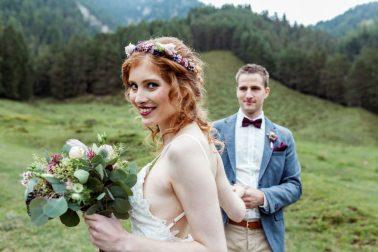 Boho Hochzeit in Kitzbühel in Tirol
