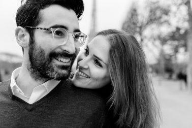 Verlobungsshooting in Paris