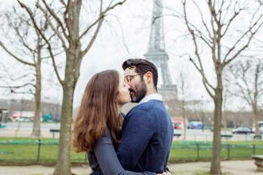Engagementshooting in Paris