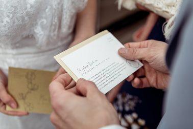 Eheversprechen Boho Hochzeit Mühlenhof