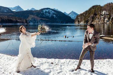 Destination Hochzeit im Hotel das Rübezahl Schwangau Schloss Neuschwanstein