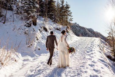 Winter Hochzeit Schloss Neuschwanstein im Allgäu