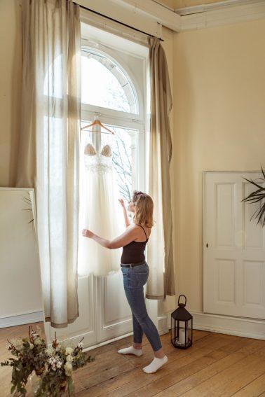 Getting Ready Elegante Winterhochzeit Villa Kalles