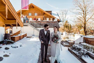 Winterhochzeit im Hotel das Rübezahl Schwangau Schloss Neuschwanstein