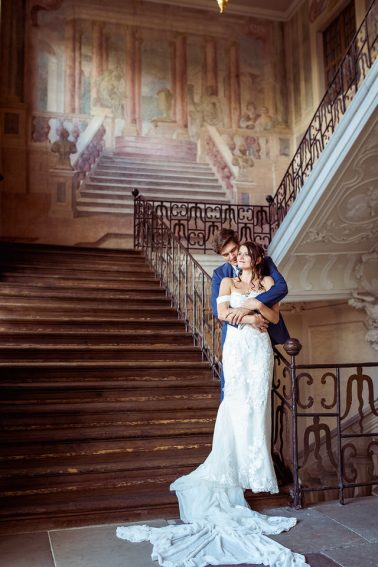 Brautpaarshooting im Schloss Ludwigsbug