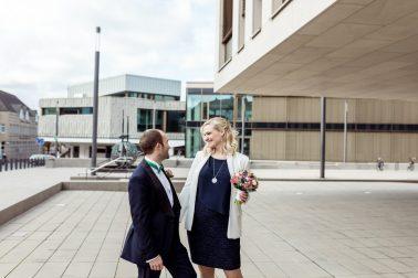 Standesamtliche Winter Hochzeit in Ratingen 3
