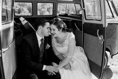 Vintage Hochzeit in Knittlingen mit Bulli