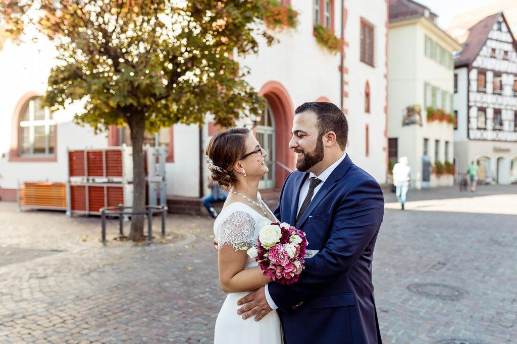 Hochzeit im Standesamt Mosbach