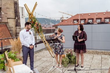 Ethno urbane Hochzeit im Out of Office Stuttgart