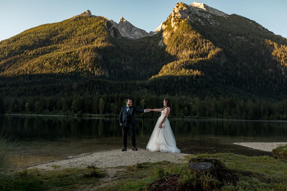 Hochzeit am Königssee