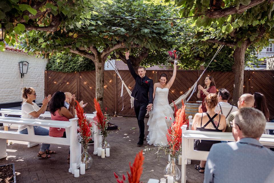 Hochzeitsfotograf Spanisch Düsseldorf Altes Zollhaus Zons