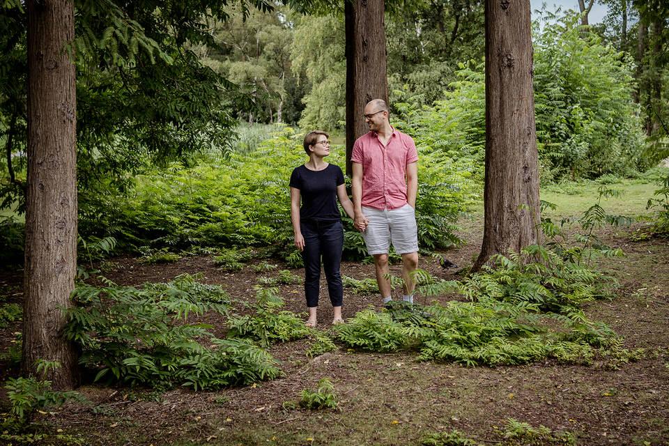 Verlobungsshooting in Düsseldorf Zoo