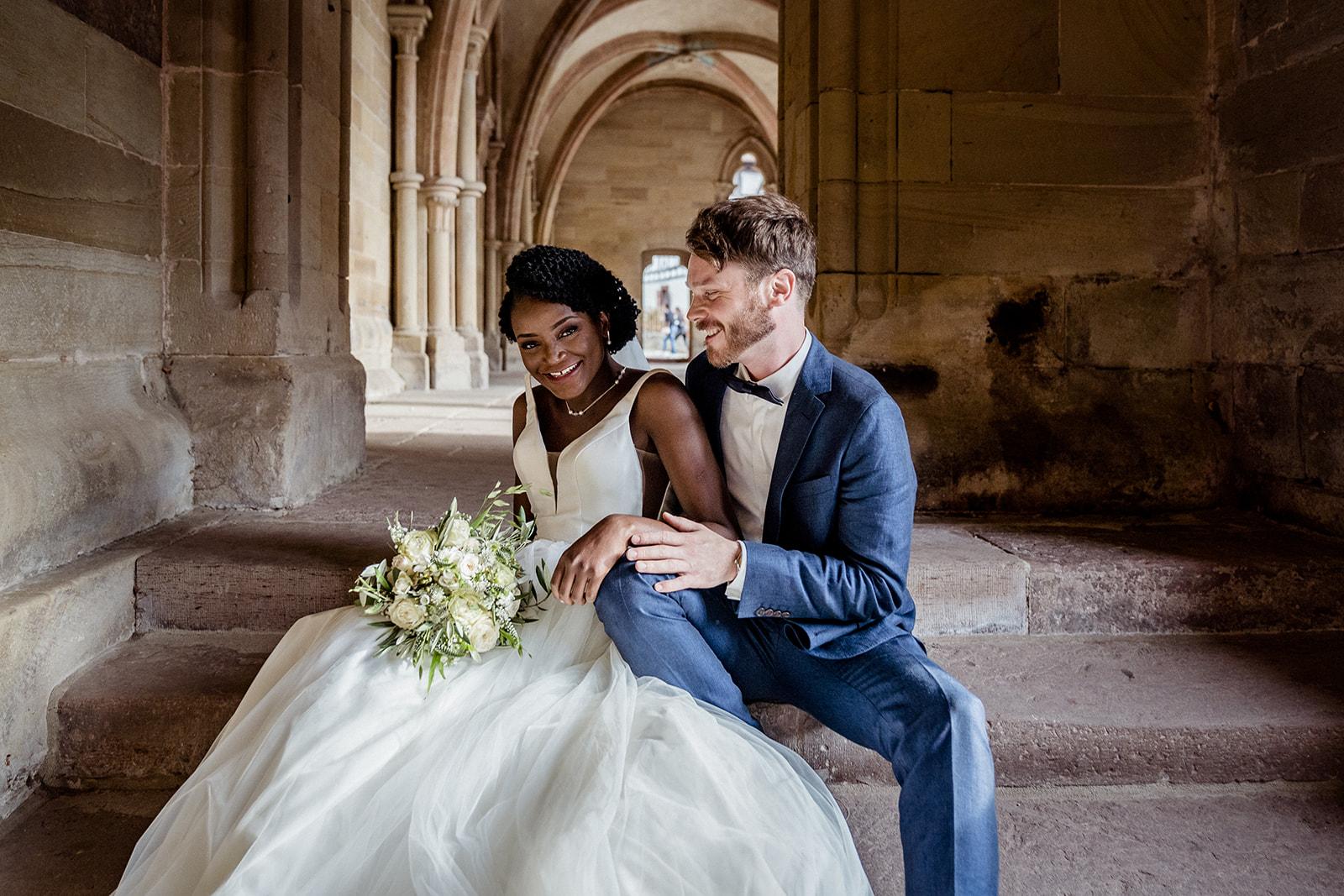 Deutsch Afrikanische Hochzeit im Kloster Maulbronn