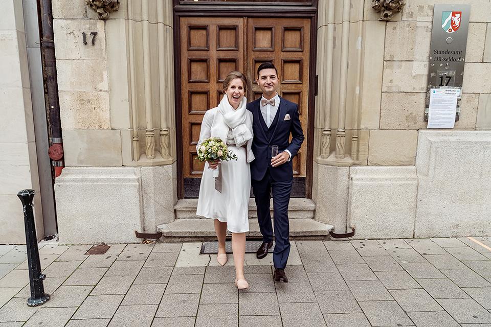 Heiraten im Standesamt Düsseldorf in der Inselstraße