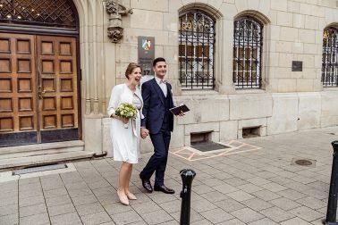 Hochzeitsfotograf Standesamt Düsseldorf in der Inselstraße