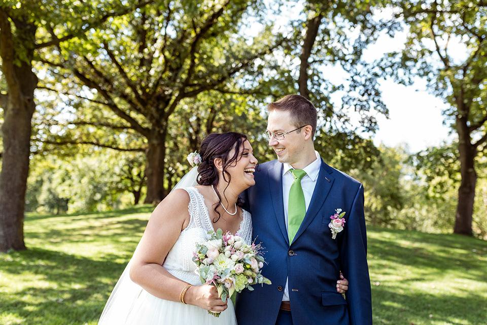 Hochzeitsfotograf heiraten im Luisenpark Mannheim