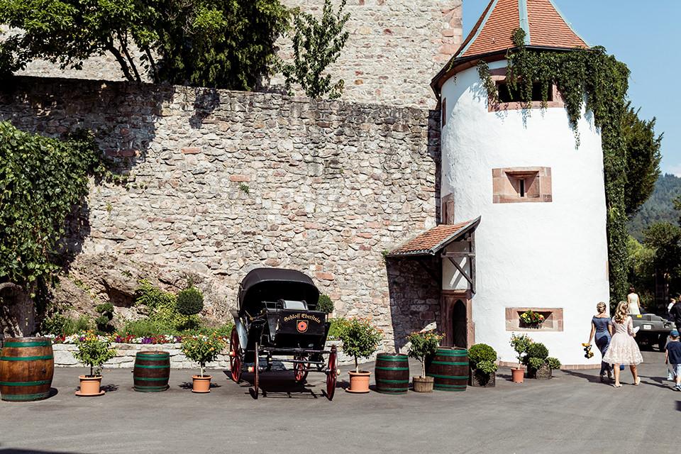Heiraten auf Schloss Eberstein in Gernsbach