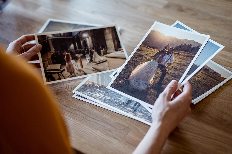 Hochzeitsfotograf Stefanie Anderson Prints und selbstklebe Alben