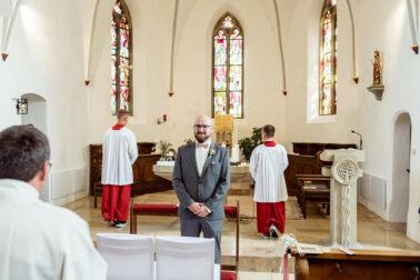 Kirchliche Trauung in Lauterach Hochzeit Schwäbische Alp