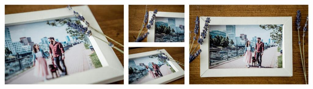 DIY Bilderrahmen aus Fotokarton
